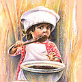 Baby Cook With Chocolade Cream by Miki De Goodaboom