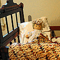 Baby Doll In Crib by Susan Savad
