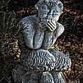 Baby Pan Statue by Danuta Bennett