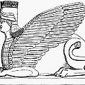 Babylonian Sphinx by Granger