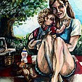Baby's First Picnic by Shana Rowe Jackson
