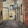 Back Alley Cityscape by John Herzog