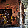 Back Alley In Leon by Mary Machare