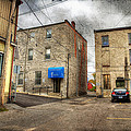 Back Alley Napanee by John Herzog