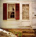 Back Door Of Old Farmhouse by Jill Battaglia