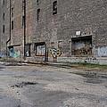 Back Of Warehouse Loading Dock by Anita Burgermeister