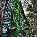 Back To Nature - Crumbling Barn by Kathy Clark