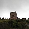 Backlit Castle by Lorraine Devon Wilke