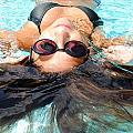 Backstroke II  by Leah Silberman
