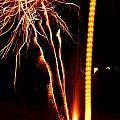 Backyard Fireworks 2012 1 by Robert Morin