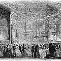 Baden-baden: Salon, 1858 by Granger