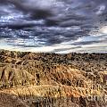 Badlands Of South Dakota by Bob Christopher
