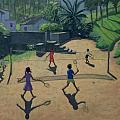 Badminton by Andrew Macara