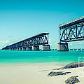 Bahia Hondas Railroad Bridge  by Hannes Cmarits