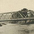 Bailey Bridge Over Willowemoc River by Ericamaxine Price