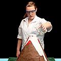 Baking Soda Volcano 3 Of 4 by Ted Kinsman