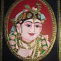 Bal Krishna by Asha Nayak