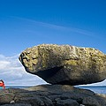 Balance Rock, British Columbia by David Nunuk