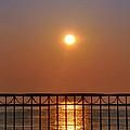 Balcony Sunrise by Bill Cannon