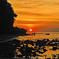 Bali Indonesian Sunset by RJ Aguilar