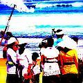 Balinese Beach Funeral  by Funkpix Photo Hunter
