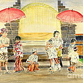 Balinese Children In Traditional Clothing by Melly Terpening