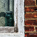 Ball Jar And Lace by David Arment