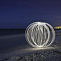 Ball Of Light Marco Island Beach by Rich Franco