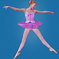 Ballerina In Pink by Delores Knowles