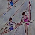 Ballerina Studio by Xueling Zou