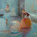 Ballet Class With Balls by Irena  Jablonski