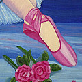 Ballet Toe Shoes For Madison by Margaret Harmon