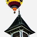 Balloon By The Steeple by Rick Frost