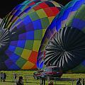 Balloon Dreamscape  4 by Rick Rauzi