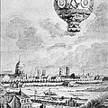 Balloon Flight, 1783 by Granger
