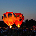Balloon Glow 1 by Bill Pevlor