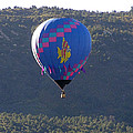 Balloon In Weber Canyon by FeVa  Fotos