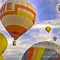 Balloon Ride by Heiko Koehrer-Wagner