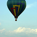 Balloons In Blue Skies  by Tom Luca