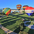 Balloons In Coolidge Park by Tom and Pat Cory