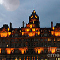 Balmoral At Night by Pravine Chester
