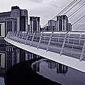 Baltic And Gateshead Millennium Bridge by David Pringle