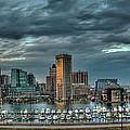 Baltimore Inner Harbor Pano by Mark Dodd