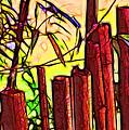 Bamboo Wind Chimes by Judi Bagwell
