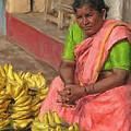 Banana Seller by Dominic Piperata