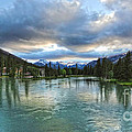 Banff And The Bow River - 01 by Gregory Dyer