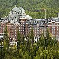 Banff Hotel 1684 by Larry Roberson