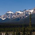Banff National Park Panorama by Terry Elniski