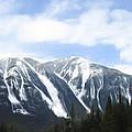 Banff Ski Runs by Wayne Bonney