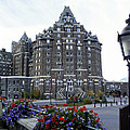 Banff Springs Hotel In The Canadian Rocky Mountains by Daniel Hagerman